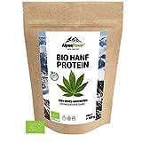ALPENPOWER | BIO HANFPROTEIN aus Österreich | Ohne Zusatzstoffe | 100% reines Hanfprotein | Hochwertiges Eiweiß | Vegan | Vielseitig anwendbar | Low Carb | Organic Hemp Protein | 600g