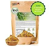 BIO Hanfprotein aus DE 1kg + Gratis Smoothie Rezeptbuch (E-Book), Vegan Protein, DE-Öko-070, Protein aus Hanfsamen, Low Carb