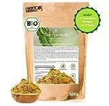 BIO Hanfprotein aus DE 1kg + Gratis E-Book mit 20 Smothie Rezepten, DE-Öko-070, Veganes Protein aus Hanfsamen