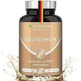 L-GLUTATHION reduziert zu 98% | Optimale Formel mit Vorläufern + Vitamin C | Tripeptid:...