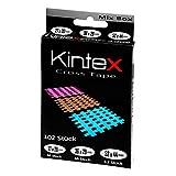 Kintex Cross-Tape Mix-Box 102 Pflaster gemischt, (beige, blau, pink) Akkupunktur, Trigger,...