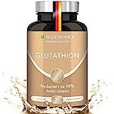 L-GLUTATHION reduziert zu 98%   Optimale Formel mit Vorläufern + Vitamin C   Tripeptid:...
