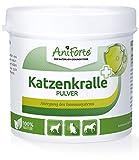 AniForte Katzenkralle Pulver 100g für Hunde, Katzen und Pferde - 100% Natur Pur, Unterstützung...