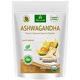 Ashwagandha Kapseln 600mg oder Tabletten 1000mg – reines Naturprodukt in Spitzenqualität –...