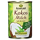Alnatura Bio Kokosmilch, vegan, 6er Pack (6 x 400 ml)