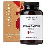 Kurkraft® Original Bio Ashwagandha (240 Kapseln mit je 660mg) - hochdosiert - Echte indische...