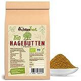 Bio Hagebuttenpulver 1Kg | ganze Hagebutte gemahlen | 100% ECHTES Bio Hagebutten Pulver in...