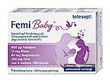 tetesept Femi Baby - 16 Nährstoffe für Kinderwunsch, Schwangerschaft & Stillzeit - Vitamine &...