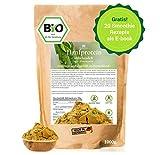 BIO Hanfprotein 1kg aus Deutschland + Gratis Smoothie E-Book (PDF), Vegan Protein aus Hanfsamen, Low...