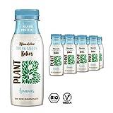 PLANT B Pflanzlicher BIO Kokos-Drink mit Ananas / Veganer Trink Snack mit Mandelprotein, hohem...