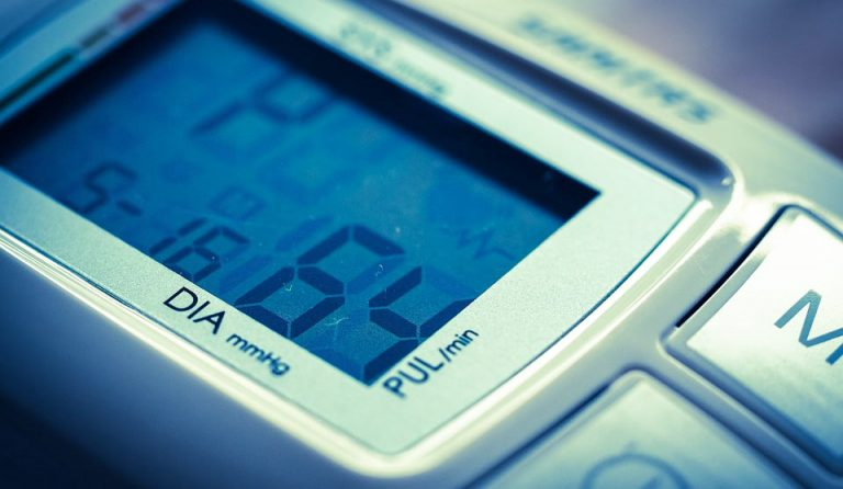 diastolischer Blutdruckwert