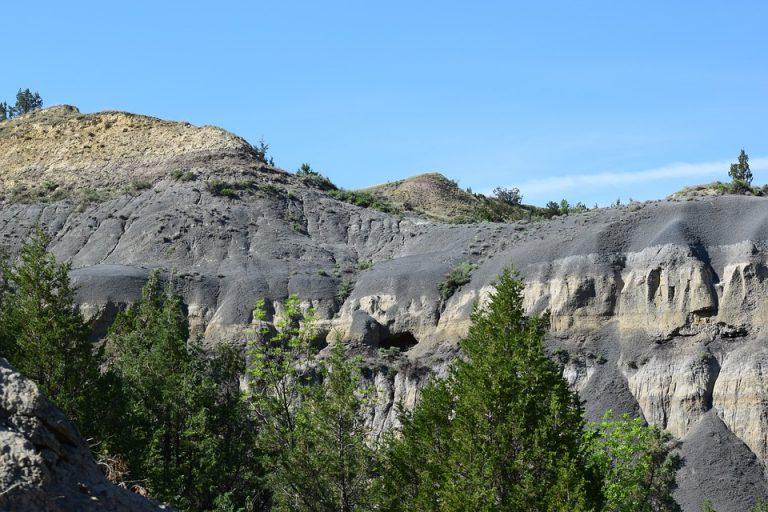 Bentonite Ton North Dakota, USA