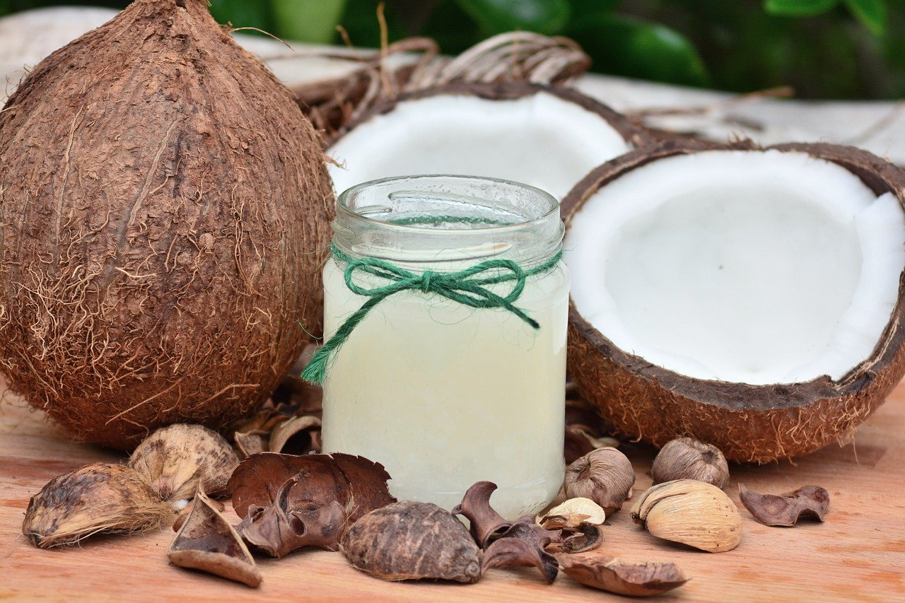 Kokosöl Test
